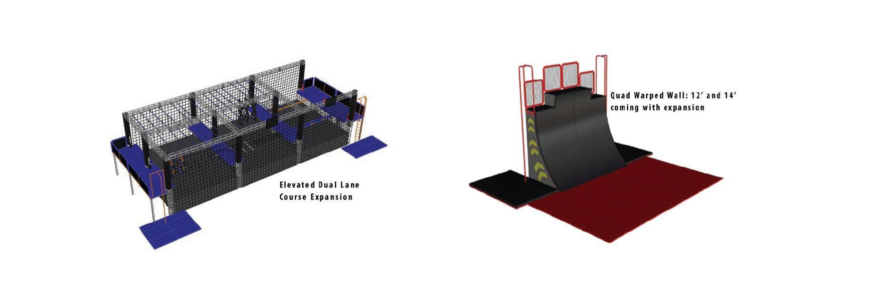 Dual Lane 3D Render